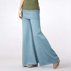 Om Girl Nomad Pant in Chambray