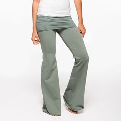 Om Girl Nomad Pant in Martini Olive