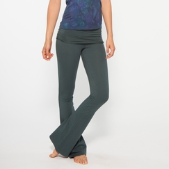 Organic Om Girl Practice Pant in Gorgeous Green