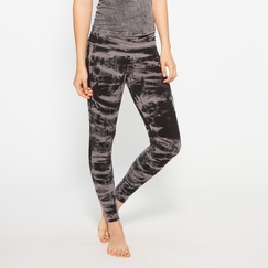 Om Girl Printed Hatha Legging in Manhattan Gray