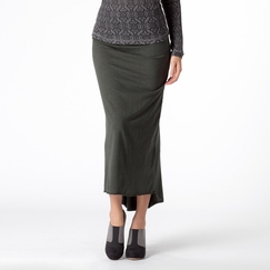 Om Girl Retreat Skirt in Forest Green