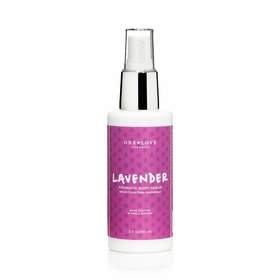 One Love Organics Aromatic Body Serum in Lavender