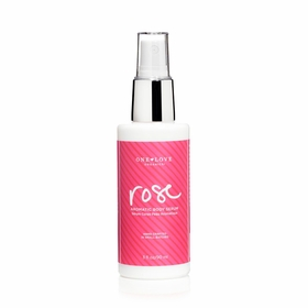 One Love Organics Aromatic Body Serum in Rose