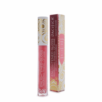 Pacifica Enlightened Gloss Mineral Lip Shine in Pink Coral