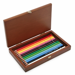 Palomino Artist Color Pencils Wood Box (12 ct.)