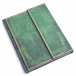 Paperblanks Desk Jade Wrap Journal (7 x 9) in Ruled (lined pages)
