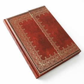 Paperblanks Foil Embossed Desk Wrap Journal (7 x 9) in Ruled (lined pages)
