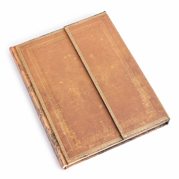 Paperblanks Handtooled Desk Wrap Journal (7 x 9) in Ruled (lined pages)