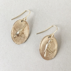 Peter Hofmeister Bird Relief Earrings