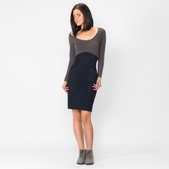 Organic Prairie Underground Commotion Dress in Denim