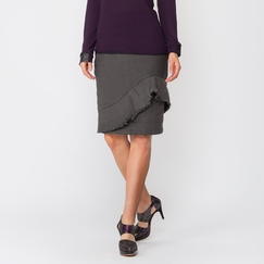 Organic Prairie Underground Off The Rails Skirt in Olive