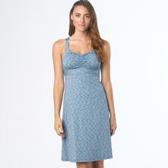 Prana Amaya Spacedye Dress in Azure
