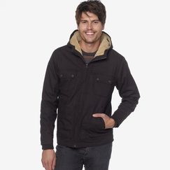 Organic Prana Apperson Jacket in Charcoal