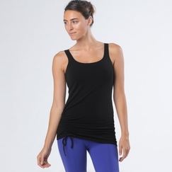 Eco Prana Ariel Tank Top in Black