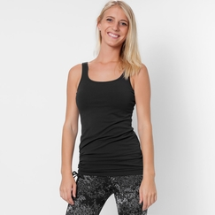 Eco Prana Ariel Adjustable Tank in Black