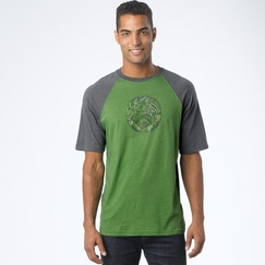 Organic Prana Barrel Short Sleeve in Jade