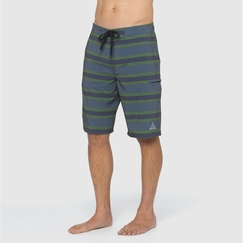 Prana Basalt Studio Short in Grey Blue
