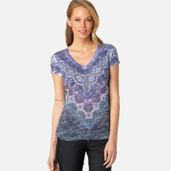Prana Braiden Top in Stone Blue