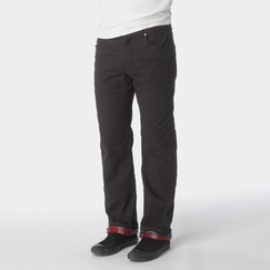 Organic Prana Bronson Lined Pant in Charcoal
