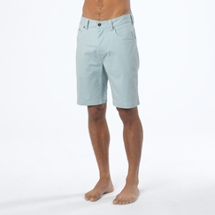 Organic Prana Bronson Short in Seaside Grey