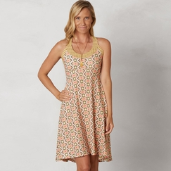 Eco Prana Cali Dress in Safari Guava