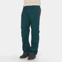 Organic Prana Continuum Stretch Canvas Pant in Deep Teal