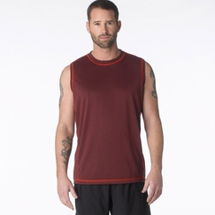 Hemp Prana Crux Sleeveless in Rich Cocoa