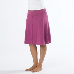 Organic Prana Dahlia Skirt in Boysenberry