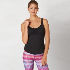 Eco Prana Dreaming Top in Black