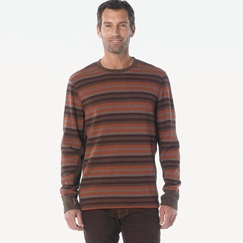 Organic Prana Driftwood Crew in Brown