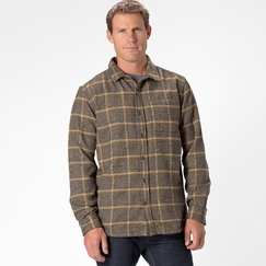 Organic Prana Dutchman Long Sleeve in Chalk Black