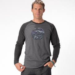 Prana Ecuador Long Sleeve in Charcoal