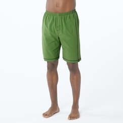 Eco Prana Flex Short in Deep Jade