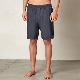 Eco Prana Flex Short in Black Stripe