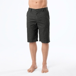 Hemp Prana Furrow Short in Black