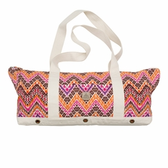 Hemp Prana June Yoga Tote in Boysenberry Tempo
