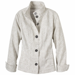 Prana Kara Denim Jacket in Stone
