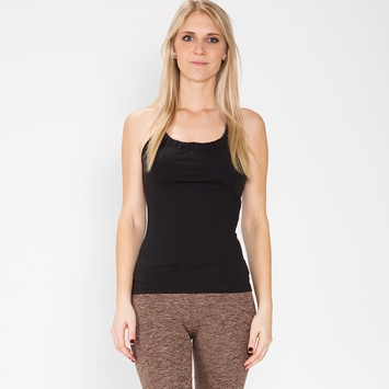 Prana Quinn Chakara Tank Top in Black