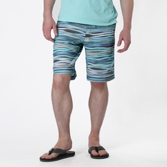 Eco Prana Linear Short in Blue Jay