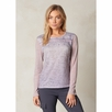 Prana Lottie Long Sleeve Burnout Top