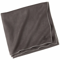 Prana Maha Yoga Towel in Grey