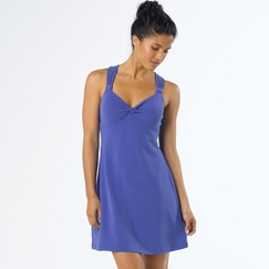 Eco Prana Manori Dress in Sail Blue
