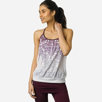 SALE / Prana Meadow Draped Top ( Plum Daydream )