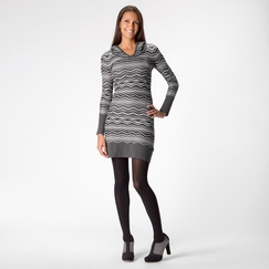 Prana Meryl Sweater Dress in Coal