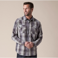 Organic Prana Midas Shirt in Coal