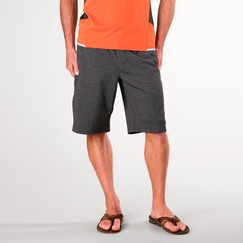 Prana Mojo Chakara Short in Charcoal Heather