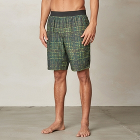 Eco Prana Mojo Short in Olive Hatch