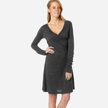 SALE / Prana Nadia Dress in Coal