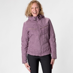 Prana Powdered Parka Jacket in Vintage Grape