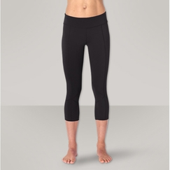 Prana Prism Capri Legging in Black